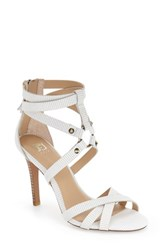 Joe's Jeans Women's Joe's 'Verona Ii' Cage Sandal Off White Leather