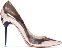 Sophia Webster Gold Coco Flamingo Heels