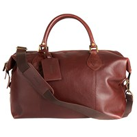 Barbour Leather Explorer Bag Brown