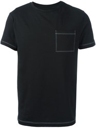 Versus Logo Back Print T Shirt Black