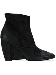 Marsell Marsell Wedge Ankle Boots Black