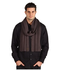 Goorin Bros. Aegean Sea Charcoal Scarves Gray