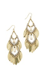 Adia Kibur Grace Earrings Gold