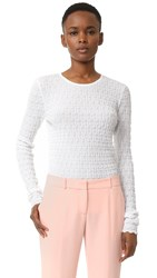Carven Sweater White