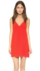 Alice Olivia Fierra Dress Poppy