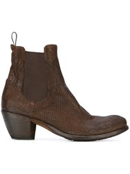 Officine Creative 'Godard' Ankle Boots Brown
