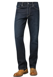 Mustang Big Sur Straight Leg Jeans Old Stone Used Dark Blue