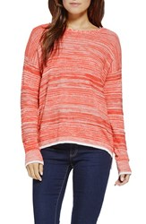 Women's Two By Vince Camuto Marled Crewneck Sweater