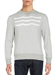 Sol Angeles Solid Heathered Pullover Heather Grey
