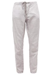 M A C Mac Trousers Vintage Grey Silver