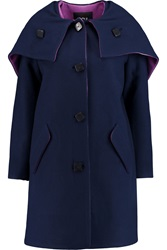 Raoul Wool Blend Hooded Coat