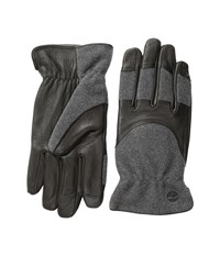 Timberland Gl360034 Melton Wool Deerskin Glove Black Extreme Cold Weather Gloves