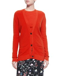 A.L.C. Philip Merino Button Front Cardigan Rouge Size S