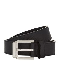 Givenchy Leather Belt Unisex Black