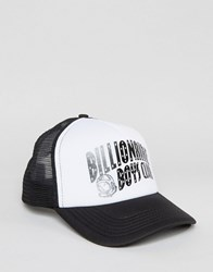 Billionaire Boys Club Trucker Cap With Arch Logo White