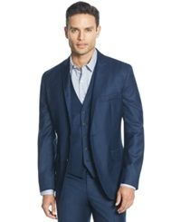 Inc International Concepts James Slim Fit Blazer Only At Macy's Navy