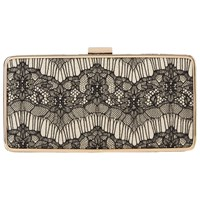 Lk Bennett L.K. Nora Box Clutch Bag Black