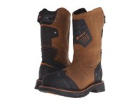 Ariat Catalyst Vx Work Composite Wide Square Toe Dark Earth Cowboy Boots Brown