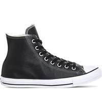 Converse Allstar High Top Leather Trainers Black White