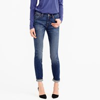 J.Crew Toothpick Jean In Mchenry Wash