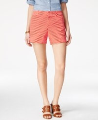 Tommy Hilfiger Hollywood Printed Shorts Red