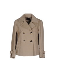 Fabrizio Lenzi Coats And Jackets Full Length Jackets Women Khaki