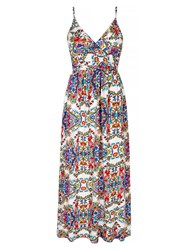Yumi Summer Floral Maxi Multi Coloured