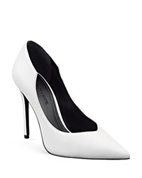 Kendall And Kylie Kendall Kylie Abi Single Sole Pointed Toe Pumps White