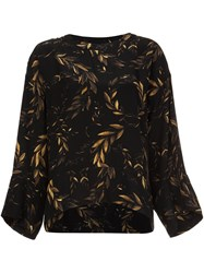 Osklen Laurel Print Sweatshirt Black