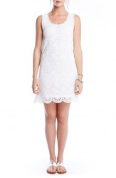 Women's Karen Kane Crochet Lace Tank Dress