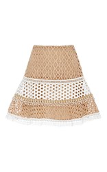 Alexis Larissa Flared Skirt Tan