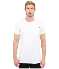 G Star Ratiz Short Sleeve Pocket Tee In Compact Jersey White Men's Short Sleeve Pullover