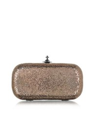 Vivienne Westwood Verona Metallic Pink Medium Clutch