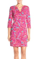 Women's Lilly Pulitzer 'Alessia' Print Pima Cotton T Shirtdress Nordstrom Exclusive