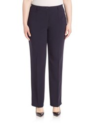 Basler Plus Size Diana Pants Navy