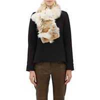 Barneys New York Women's Fur Pull Through Scarf Beige Cream No Color Beige Cream No Color