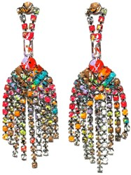 Tom Binns 'Riot Of Colour' Earrings Multicolour