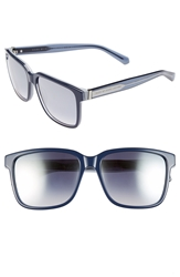 Marc By Marc Jacobs 56Mm Retro Sunglasses Blue Grey
