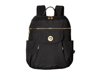 Baggallini Gold Capetown Backpack Black Backpack Bags