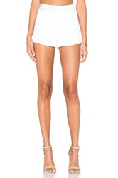 Ramy Brook Leilah Short White
