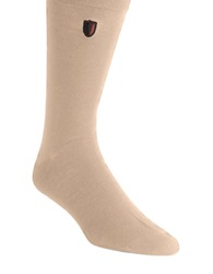 Black Brown Bamboo Blend Dress Socks Taupe