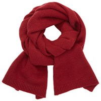 John Lewis Cashmere Scarf Red