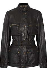 Belstaff Printed Coated Shell Jacket Black