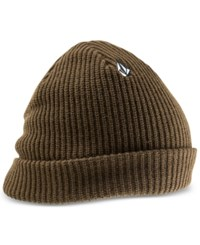 Volcom Full Stone Beanie Dark Chocolate