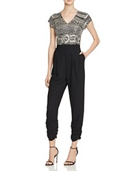 Parker Romana Embellished Jumpsuit 100 Bloomingdale's Exclusive Silver