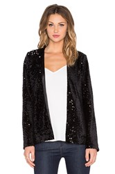 Michael Stars Long Sleeve Jacket Black
