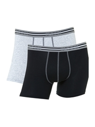 Sloggi 2 Pack Match Short Trunk Grey