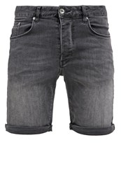 Minimum Samden Denim Shorts Night Grey Dark Gray