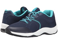 Vionic With Orthaheel Technology Action Emerald Lace Up Navy Women's Lace Up Casual Shoes