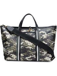 Pierre Hardy Camouflage Holdall Nude And Neutrals